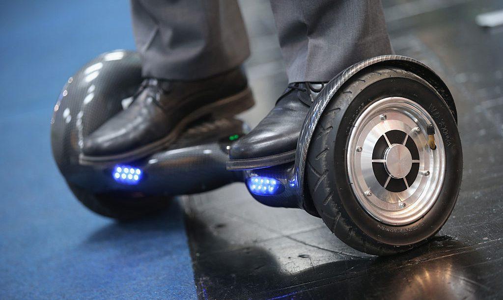 Monopattini e hoverboard in città