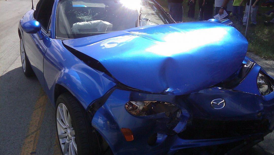 Auto incidentata quando può circolare