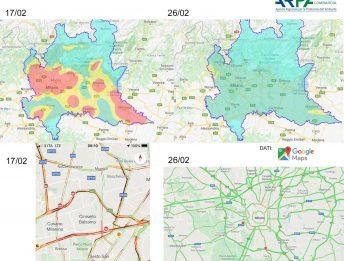 Riduzione inquinamento Cina Lombardia