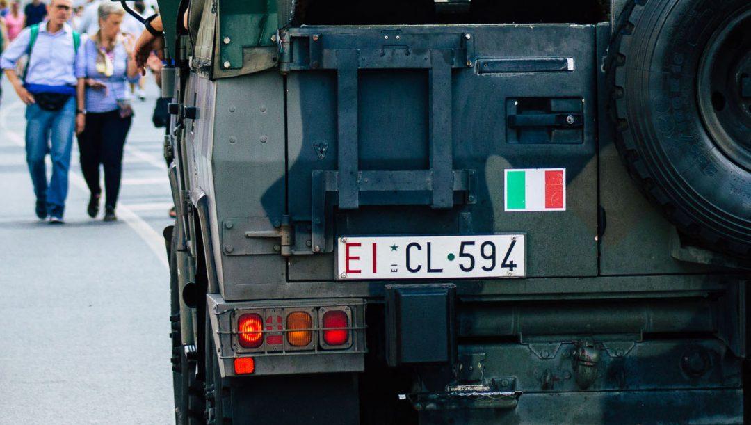 Targhe militari italiane