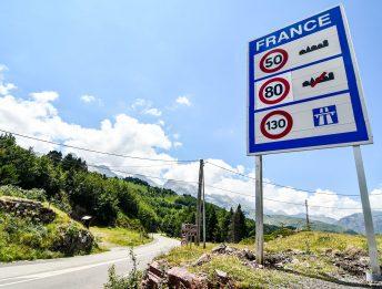 Si può andare in Francia dall'Italia in macchina