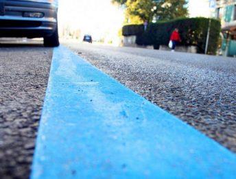 Strisce blu Palermo