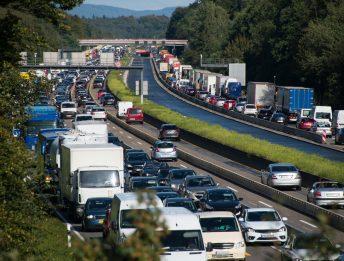 Ritardo per traffico in autostrada